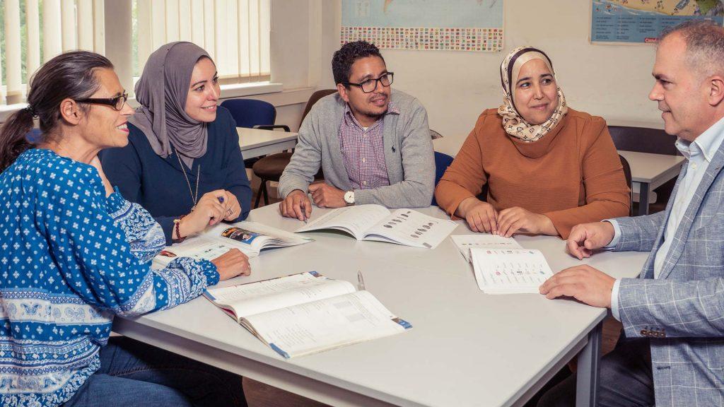 Deutsch lernen Düsseldorf Kursgruppe • ABC Sprachenservice Ibraimi
